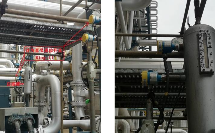 计为音叉液位开关中标白油罐高低位测量项目